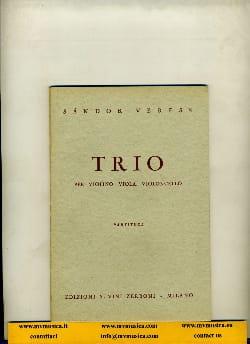 Trio - Partitura - Sandor Veress - Partition - laflutedepan.com