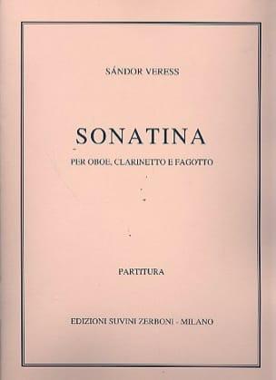 Sandor Veress - Sonatina Oboe, clarinetto, fagotto - Partition - di-arezzo.fr