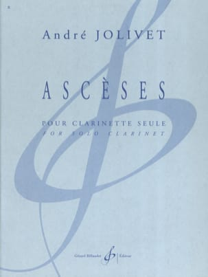 André Jolivet - asceticism - Sheet Music - di-arezzo.com