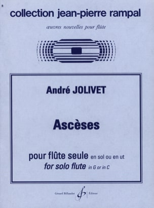 André Jolivet - asceticism - Sheet Music - di-arezzo.co.uk