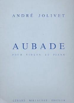 André Jolivet - Aubade - Sheet Music - di-arezzo.com