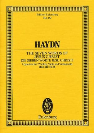 HAYDN - Streich-Quartet op. 51 Hob. III: 50-56 - Sheet Music - di-arezzo.co.uk
