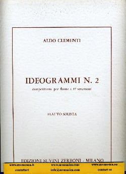 Aldo Clementi - Ideogrammi n° 2 – Flauto solista - Partition - di-arezzo.fr