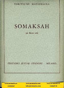 Yoritsuné Matsudaira - Somaksah - Partition - di-arezzo.fr