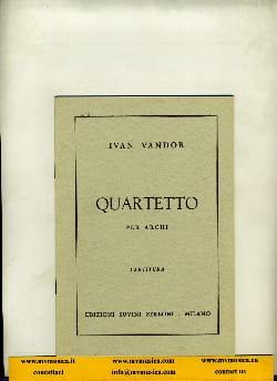 Ivan Vandor - Quartetto per archi - Partitura - Sheet Music - di-arezzo.co.uk