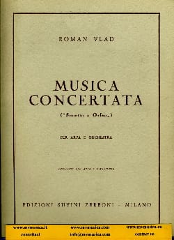 Roman Vlad - Musica Concertata - rid. Arpa e piano - Sheet Music - di-arezzo.co.uk