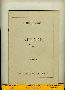 Camillo Togni - Aubade per sei - Sheet Music - di-arezzo.co.uk