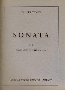 Giulio Viozzi - Sonata - Contrabbasso - Sheet Music - di-arezzo.co.uk
