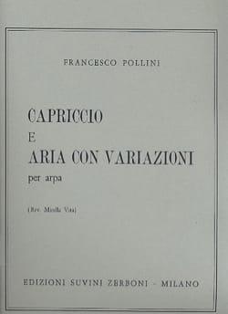 Francesco Pollini - Capriccio e Aria con variazioni - Partition - di-arezzo.fr