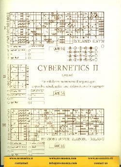 Roland Kayn - Cybernetics II - Partitur - Sheet Music - di-arezzo.com