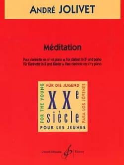 André Jolivet - Méditation - Partition - di-arezzo.fr