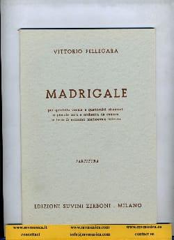 Madrigale Vittorio Fellegara Partition Grand format - laflutedepan