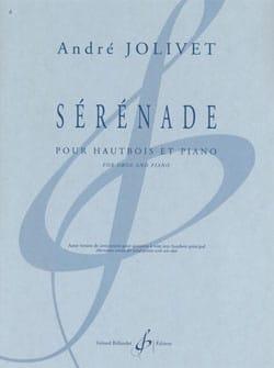 Sérénade André Jolivet Partition Hautbois - laflutedepan