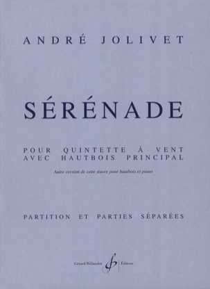 André Jolivet - Serenade - Driver Parts - Sheet Music - di-arezzo.com