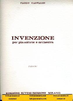 Paolo Castaldi - Invenzione – Partitura - Partition - di-arezzo.fr