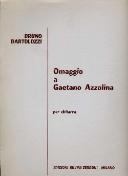 Omaggio a Gaetano Azzolina - Bruno Bartolozzi - laflutedepan.com