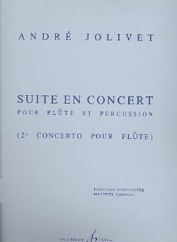 André Jolivet - Suite In Concert - Complete Material - Sheet Music - di-arezzo.co.uk