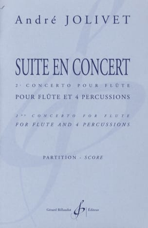 André Jolivet - Suite en concert - Conducteur - Partition - di-arezzo.fr