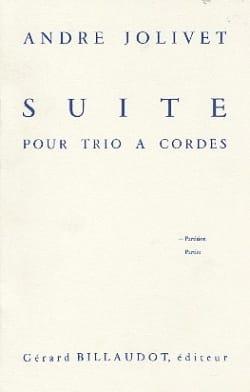 André Jolivet - Suite pour trio à cordes - Conducteur - Partition - di-arezzo.fr