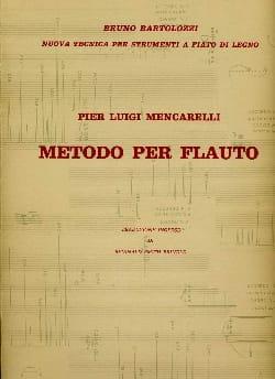 Metodo per flauto Pier Luigi Mencarelli Partition laflutedepan
