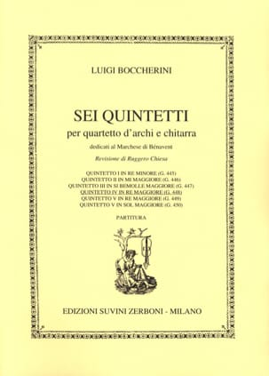 Quintetto n° 4 in re maggiore G. 448 - laflutedepan.com