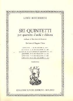 Quintetto n° 6 in sol maggiore G. 450 - BOCCHERINI - laflutedepan.com