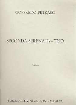 Goffredo Petrassi - Serenata seconda - Trio – Parties - Partition - di-arezzo.fr