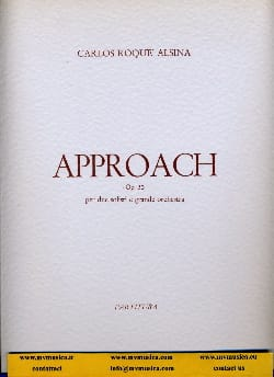 Approach op. 30 –Partitura - Carlos Roqué Alsina - laflutedepan.com