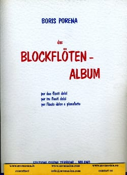 Boris Porena - Blockflöten Album - Sheet Music - di-arezzo.com