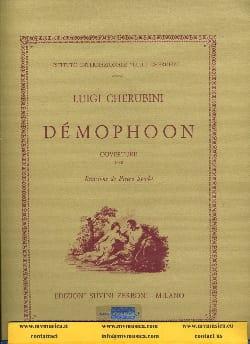 Démophoon, ouverture - Luigi Cherubini - Partition - laflutedepan.com