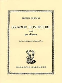 Grande ouverture op. 61 - Mauro Giuliani - laflutedepan.com