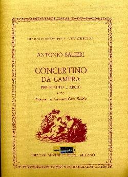 Antonio Salieri - Concertino da camera - Partitura - Partition - di-arezzo.fr