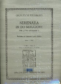 Giovanni Paisiello - Serenade in C major driver - Sheet Music - di-arezzo.com