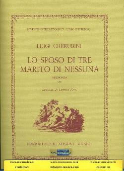 Luigi Cherubini - Lo sposo di marito di nessuna, Sinfonia - Sheet Music - di-arezzo.com