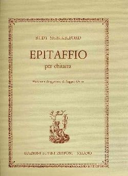 Epitaffio - Rudy Shackelford - Partition - Guitare - laflutedepan.com