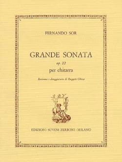 Fernando Sor - Great Sonata Op. 22 - Sheet Music - di-arezzo.co.uk