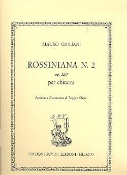 Mauro Giuliani - Rossiniana n° 2 op. 120 - Partition - di-arezzo.fr
