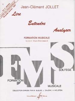 Jean-Clément Jollet - Leer Escuchar Analizar Volumen 5 - Profesor - Partitura - di-arezzo.es