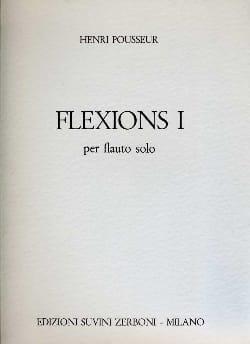 Flexions 1 - Flauto solo - Henri Pousseur - laflutedepan.com