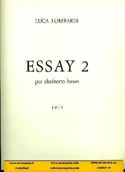 Essay 2 -clarinetto basso - Luca Lombardi - laflutedepan.com