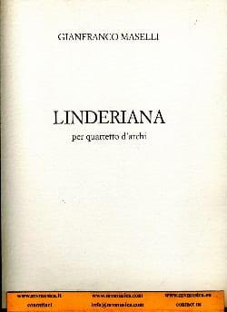 Gianfranco Maselli - Linderiana - Partition - di-arezzo.fr
