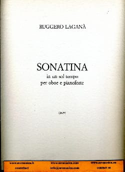 Ruggero Lagana - Sonatina - Sheet Music - di-arezzo.co.uk