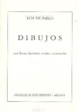 Dibujos –Partitura - Luis de Pablo - Partition - laflutedepan.com