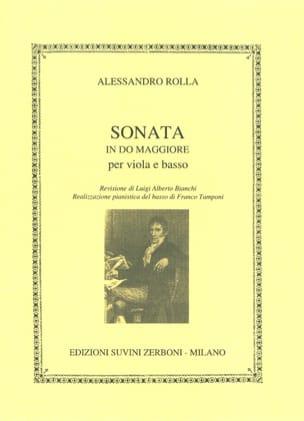 Alessandro Rolla - Sonata in do maggiore - Sheet Music - di-arezzo.co.uk