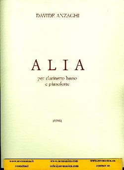 Davide Anzaghi - Alia - Partition - di-arezzo.fr