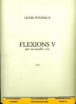 Flexions 5 - Henri Pousseur - Partition - laflutedepan.com