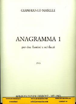 Gianfranco Maselli - Anagramma 1 - Partition - di-arezzo.fr