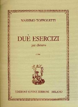 Massimo Toffoletti - 2 Esercizi - Partition - di-arezzo.fr