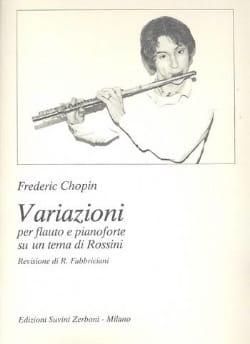 CHOPIN - Variazioni on a tema di Rossini - Sheet Music - di-arezzo.com