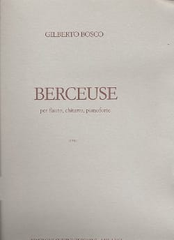 Giberto Bosco - Berceuse - Partition - di-arezzo.fr